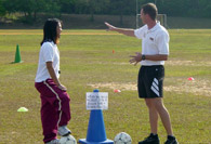 Soccer instruction